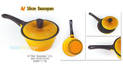 sauce pan ceramic coated  non stick cooking pot