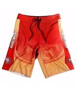 San Francisco 49ers Board Shorts - Size 32 Swimsuit Swim Trunks  - $36.95
