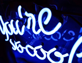 "You're So Cool Neon Sign 13"" x 8"" image 4"