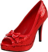 Ellie Shoes Women's 420-Dorothy Pump,Red,6 M US - $28.80
