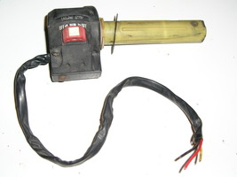 right side switch set + throttle tube - $32.00