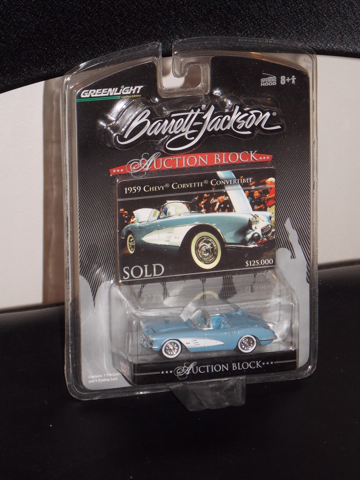 Primary image for 2007 Barrett Jackson 1959 Chevy Corvette Convertible Auction Block New