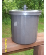 Vintage Tupperware Ice Bucket 3 Pc Insulated Container Dark Brown Model ... - $9.99