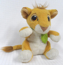 Authentic SIMBA Lion King TALKS Stuffed Animal Mattel 1993 Plush DISNEY ... - $27.95