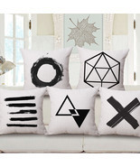 Classic Simplistic Black and White Theme Home D... - $9.99