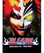DVD BLEACH COMPLETE COLLECTION (EPS 1- 366 END) 2 BOX SET ~ ENGLISH VERS... - $249.99