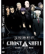 DVD GHOST IN THE SHELL (SEASON 1+2) + 3 MOVIES COLLECTION - ENGLISH VERS... - $29.99
