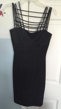 Black Strappy Cocktail Dress By Andrea Polizzi. Size 4. Euc! - $11.87