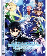 DVD SWORD ART ONLINE (SEASON 1 + 2) EPI 1-49 END +2 OVA ~ 3 DVD BOX SET ... - $20.99