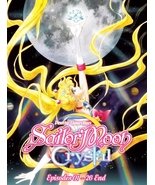 DVD PRETTY GUARDIAN SAILOR MOON CRYSTAL ( EPI 1 - 26 END ) DVD BOX SET ~... - $19.99