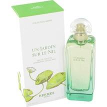 Hermes Un Jardin Sur Le Nil 3.3 Oz Eau De Toilette Spray image 1