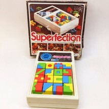 1975 Lakeside's SUPERFECTION Puzzle Match Race Game COMPLETE Working - $28.22