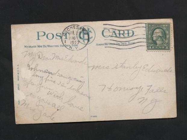 Vintage Postcard 1920s Band Stand Seneca and 18 similar items