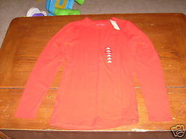 Arizona Red Long Sleeve Shirt Size 18 (Xl) Girl's New Last One - $32.99