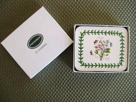 Portmeirion Botanic Garden Coasters 6 NIB - $14.99