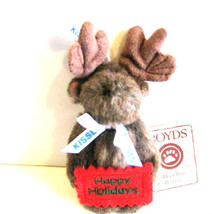 """Boyds Bear """"Chocolate"""" Hershey Exclusive- 4"""" Moose Ornament-#94235HE-NWT - $23.99"""