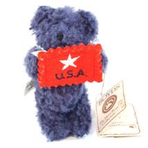 "Boyds Bear ""Liberty"" Hershey Exclusive- 4"" Bear Ornament-#94233HE-NWT - $23.99"
