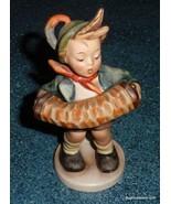 """Accordion Boy"" Goebel Hummel Figurine #185 TMK1 Incised Crown - VERY RARE! - $310.39"
