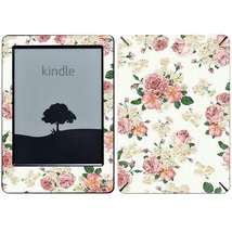Roses Grey Texture Decal Skin For e-reader Amaz... - $16.00