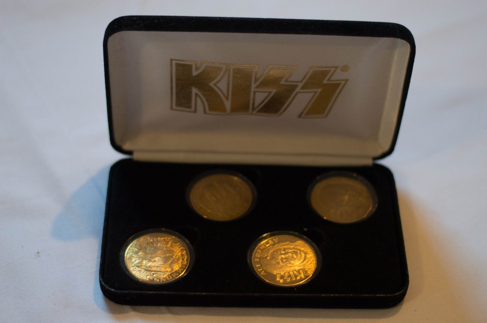Primary image for KISS-GOLD- ALIVE COMMEMORATIVE COINS