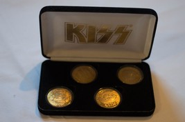 KISS-GOLD- ALIVE COMMEMORATIVE COINS - $399.00