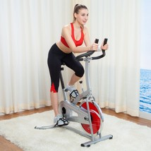 Exercise Bike Bicycle Gym Cycle Workout Cardio Fat Burning Health &Fitne... - $258.21