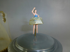 Antique Swiss Jaccard ( Pre Reuge ) Dancing Ballerina Music Box  Fully  Serviced - $292.05