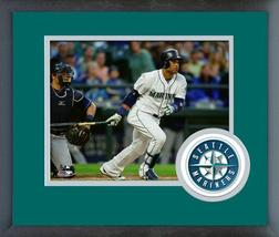 Robinson Cano 2016 Seattle Mariners - 11x14 Team Logo Matted/Framed Photo - $42.95