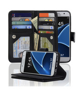 Samsung Galaxy S7 -3 Layer Wallet Folio Leather... - $15.50
