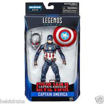 Captain America Civil War Marvel Legends CAPTAIN AMERICA Action Figure W... - $19.95