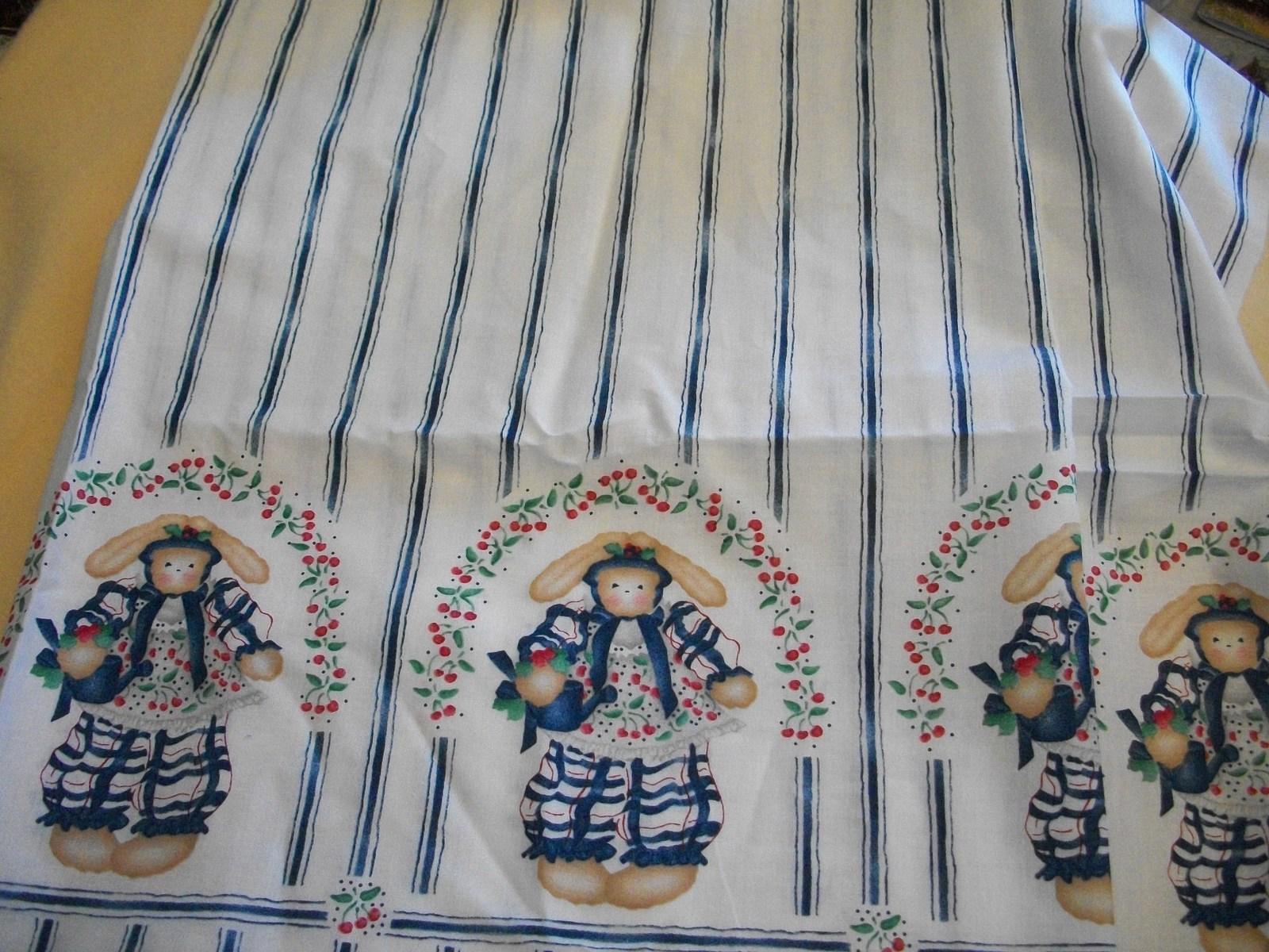 Elsie Bunny Border Print Fabric - $14.00