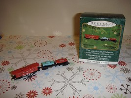 Hallmark 2001 Car Carrier Caboose Lionel 746 Norfolk Western Miniature Ornament - $21.99