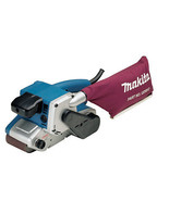 Makita Variable Speed Belt Sander w Cloth Dust Bag Garage Shop Power Too... - $292.99