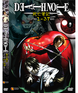 DVD DEATH NOTE  (EPI 1 - 37 END) - ENGLISH VERSION ~3 DVDs  - $19.99