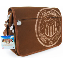 "Bioshock Infinite Columbia Customs Canvas Messenger Bag - 2"" Wide Adj St... - $105.89"