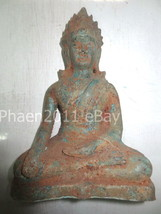 SO Big RARE! Big Ancient Phra Lop-Buli Era Style Statue Top Thai Buddha ... - $269.99