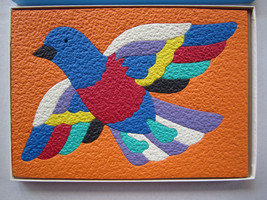 Vintage 1979 LAURI FOAM PUZZLE BIRD 2152 Peace Love - $13.36