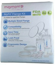 Maymom MyFit Flange Kit Compatible w/SpeCtra Pumps Leak Proof 24mm NIB - $19.08