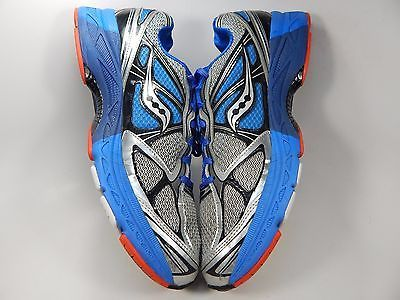 Saucony Guide 7 Men's Running Shoes Size US 13 M (D) EU 48 Silver Blue 20227-1