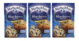 Martha White Blueberry Muffin Mix 3 Bag Pack - $14.80