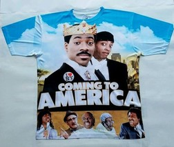 Custom Coming to America T Sublimated Shirt  gamma legend galaxy pantone - $33.99