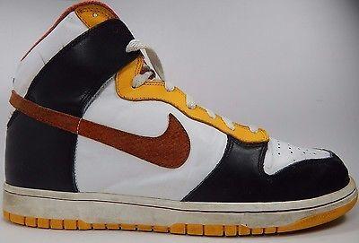 Nike VINTAGE Dunk Men's Basketball Shoes Sz US 13 M (D) EU 47.5 White 309432-083