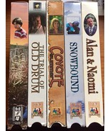 Feature Films for Families VHS Movies Lot of 5 Christian Alan Naomi Coyo... - $28.66