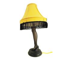 Sexy Leg  Lamp Black Fish net stockings Yellow ... - $135.00