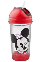 MICKEY MOUSE-FLIP N SIP CANTEEN - $7.95