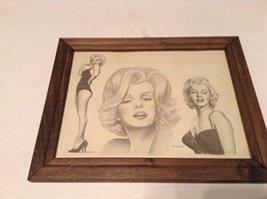 Marilyn Monroe Framed Print Michael Irvin 1986 [Poster] [Jan 01, 1970] Michae... - $149.75