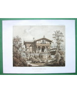 ARCHITECTURE COLOR PRINT : Germany Berling Vill... - $64.35