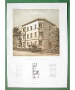 ARCHITECTURE PRINT : Berlin Apartment Building ... - $37.13