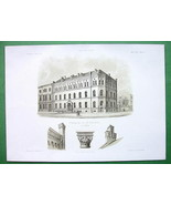 ARCHITECTURE PRINT : Germany Cologne Rectory Bu... - $43.56