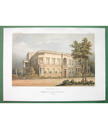 ARCHITECTURE COLOR PRINT : Residential Building... - $49.01